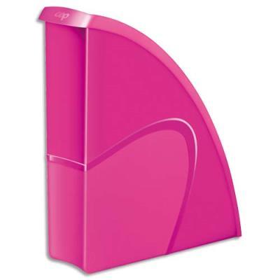Porte-revues CEP Gloss - dos 8 cm - rose pepsy (photo)