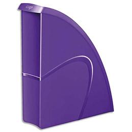 Porte-revues CEP Gloss - dos 8 cm - violet (photo)