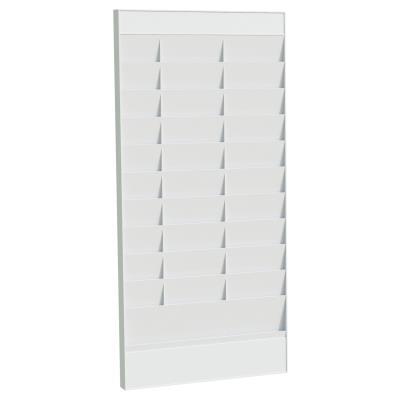 Planning Paperflow Office élément de départ - 20 cases - pour formats A4 - L58 x H126,3 x P4,6 cm - gris (photo)