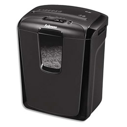 Destructeur de documents Fellowes M-8C - coupe croisée - 8 feuilles (photo)