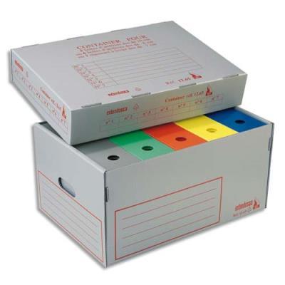 Container à archives Extendos ignifugé en polypro alvéolé 100% recyclable (photo)