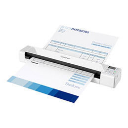 Brother DSmobile 820W - Scanner à feuilles - 215.9 x 812.8 mm - 600 ppp x 600 ppp - USB 2.0, Wi-Fi(n) (photo)