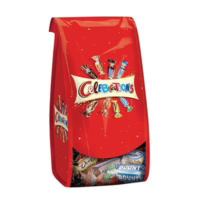 Assortiment de chocolats ballotin - forme corolle -190 g (photo)
