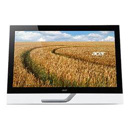 Acer T272HUL - Écran LED - 27'' - écran tactile - 2560 x 1440 QHD - 300 cd/m² - 5 ms - HDMI, DVI - haut-parleurs - noir (photo)
