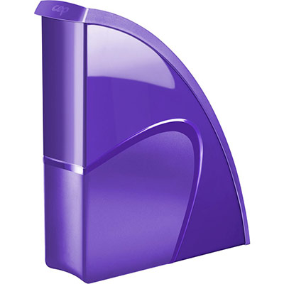 Porte-revues CEP Gloss - dos 8 cm - violet