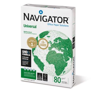 Papier Navigator Universal - extra blanc - 80 g - A4 - ramette de 500 feuilles