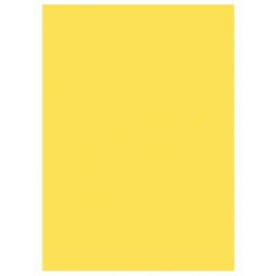 Sous-chemises 60g recyclées - 22 x 31 cm - jaune - lot de 250