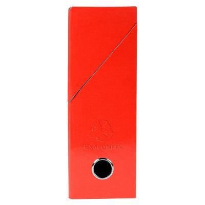 Boîte de transfert Exacompta Iderama - carte lustrée pelliculée - dos 9,5 cm - 34 x 26 cm - rouge