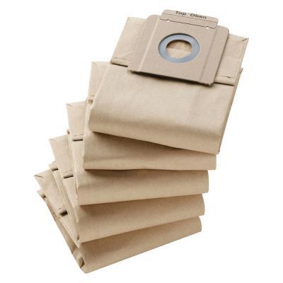 Sacs en papier Karcher - 2 couches - pour aspirateur 10/1 - lot de 10