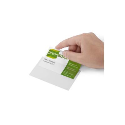 Porte-étiquette autocollant Durable PocketFIX - paquet 10 unités