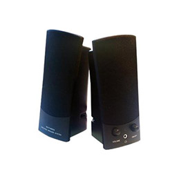 MCL Samar HP-360W - Haut-parleurs - pour PC - 6 Watt (Totale) - noir (photo)