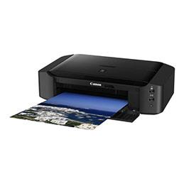 Canon PIXMA iP8750 - Imprimante - couleur - jet d'encre - Ledger, A3 Plus - jusqu'à 14.5 ipm (mono) / jusqu'à 10.4 ipm (couleur) - capacité : 150 feuilles - USB 2.0, Wi-Fi(n) (photo)