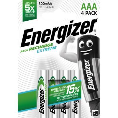 Pile Energizer AAA HR03 Extrem - recheargeable - 800 mAh - blister de 4 piles