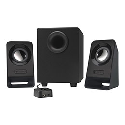 Logitech Z213 - Système de haut-parleur - pour PC - Canal 2.1 - 7 Watt (Totale)