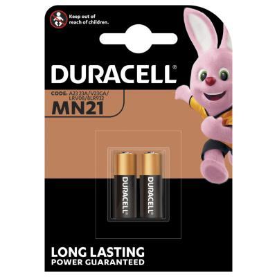 Piles Duracell MN21 alcalines - blister de 2