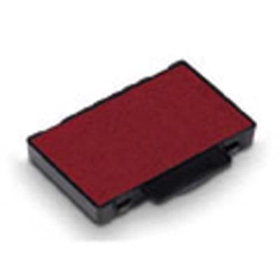Lot de 3 Carte de 6 recharges d'encre rouge Trodat - 53 (photo)