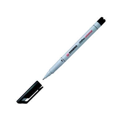 Marqueur non permanent Stabilo OH Pen - pointe fine - noir