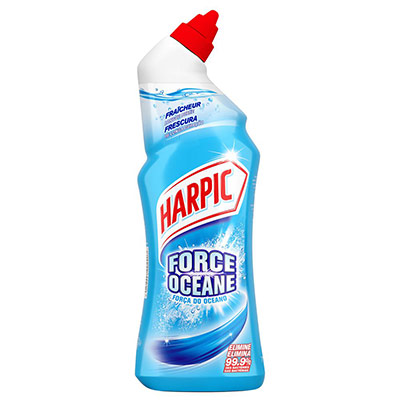 Gel WC Harpic auto-actif force océane - antibactérien - 750 ml (photo)
