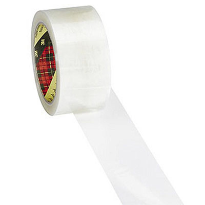 Ruban adhésif d'emballage Scotch 371 - polypropylène transparent  - 48 microns - 50 mm x 66m (photo)