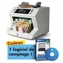 Compteuse de billets Safescan 2665-S + logiciel sauvegarde comptage MCS offert (photo)