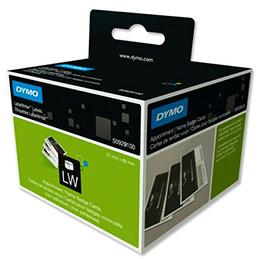 Rouleau d'étiquettes carte de visite pour Dymo Labelwriter -  format 89 x 51 mm - S0929100