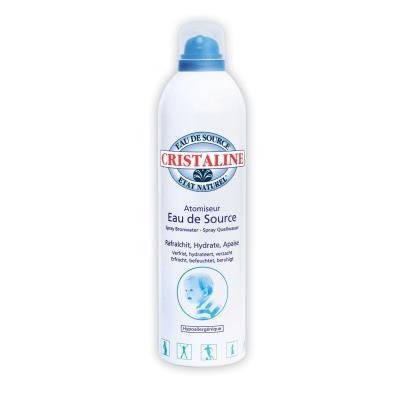 Brumisateur d'eau de source Cristaline - 150 mL