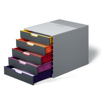 Module de classement Varicolor - 5 tiroirs multicolore - 29,2 x 28 x 35,6 cm
