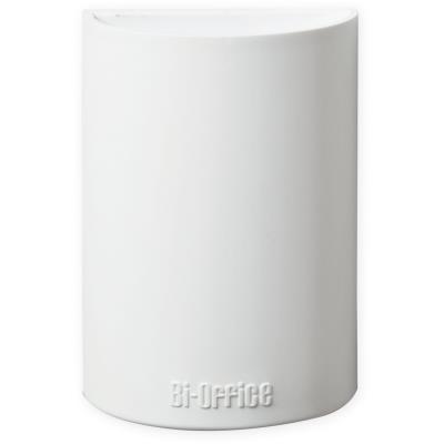Auget pour tableau blanc - magnétique - blanc - 110 x 75 x 42 mm