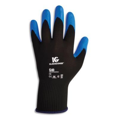Gants de manutention Jackson Safety G40 - enduction nitrile - taille 10  - coloris bleu