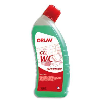 Gel vert détartrant WC - nettoie détartre et désodorise - parfum pin - flacon 750 ml (photo)