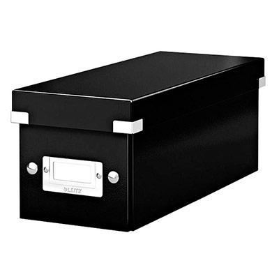 Boîte de rangement Leitz Click & Store pour CD - noir