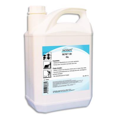 Nettoyant désodorisant multi-usages pour sols et surfaces dures - parfum pin - bidon de 5L (photo)