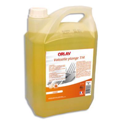 Liquide vaisselle concentré - Ph neutre - parfum citron - bidon de 5L