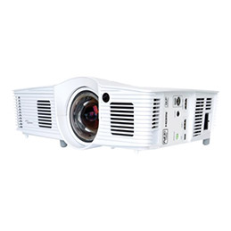 Optoma EH200ST - Projecteur DLP - portable - 3D - 3000 ANSI lumens - Full HD (1920 x 1080) - 16:9 - HD 1080p - Objectif fixe de courte portée (photo)