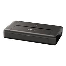 Canon PIXMA iP110 - Imprimante - couleur - jet d'encre - A4/Legal - jusqu'à 9 ipm (mono) / jusqu'à 5.8 ipm (couleur) - capacité : 50 feuilles - USB 2.0, Wi-Fi(n) (photo)