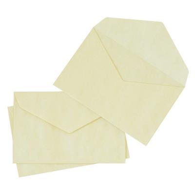 Enveloppe élections La Couronne - 90 x 140 mm - 70 g/m² fermeture autocollante - jaune - paquet 1000 unités