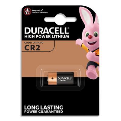 Pile Duracell CR2 Ultra lithium - blister de 1
