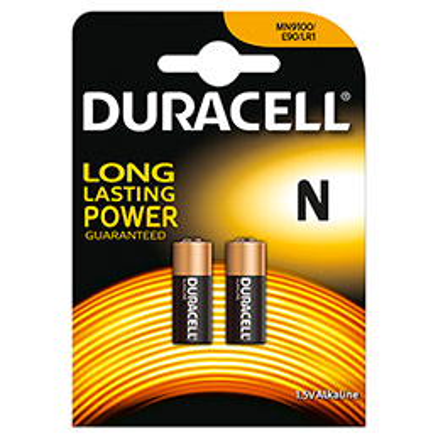Pile duracell n mn9100 alcaline blister de 2 piles