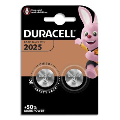 Piles Duracell 2025 lithium - blister de 2 (photo)