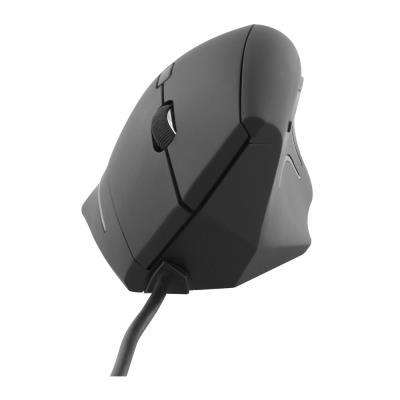 Souris ergonomique verticale filaire Tnb - noir