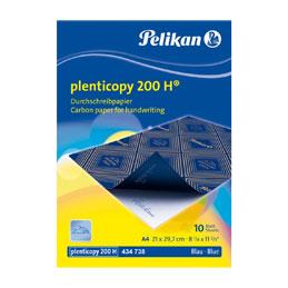 Feuilles carbone Pelikan Spherol - format 21x29.7 cm - pour travaux manuscrits dos ciré - pochette de 10 (photo)