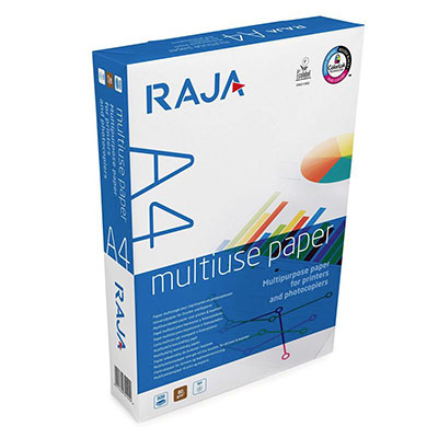 Papier très blanc Raja Paper - A4 - 80g - CIE 161 - Multi-usage - ramette de 500 feuilles