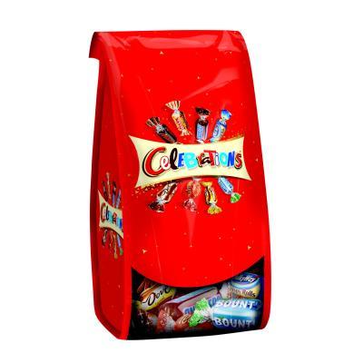 Assortiment de chocolats ballotin - forme corolle -190 g