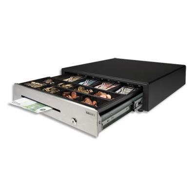 Tiroir-caisse à usage intensif Safescan HD-4646S - ouverture électrique et clé facile