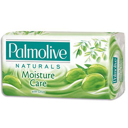 Lot de 6 savons solides Palmolive Naturals - à l'huile d'olive - 6 x 90g (photo)