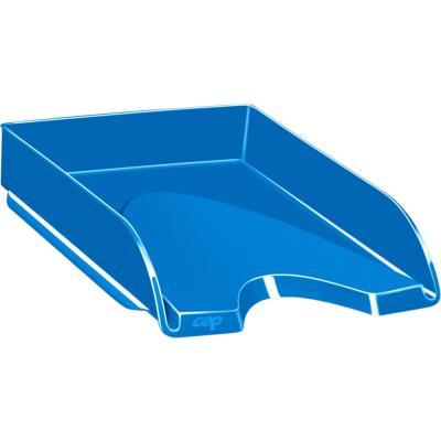 Corbeille à courrier CEP Gloss - 24 x 32 cm - bleu océan
