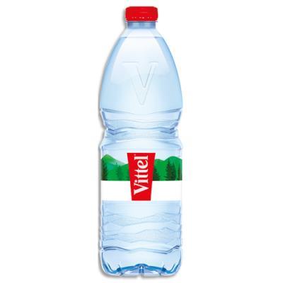Bouteille d'eau minérale Vittel - 1L (photo)