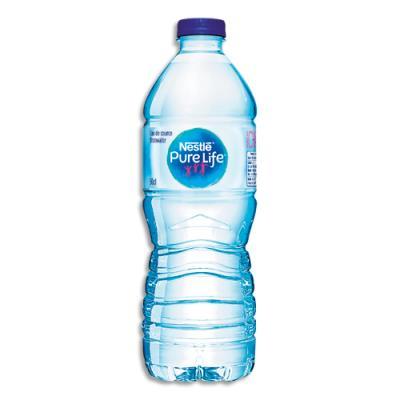 Bouteille d'eau de source Nestlé Pure Life - bouteille de 50 cl (photo)
