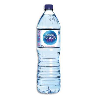 Bouteille d'eau de source Nestlé Pure Life - bouteille de 1,5 litre (photo)