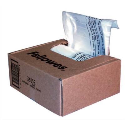 Boîte de 100 sacs FELLOWES pour destructeurs jusqu'à 34 litres : Série 99 (photo)